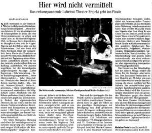 Berliner Zeitung 19/20 Juni 2004